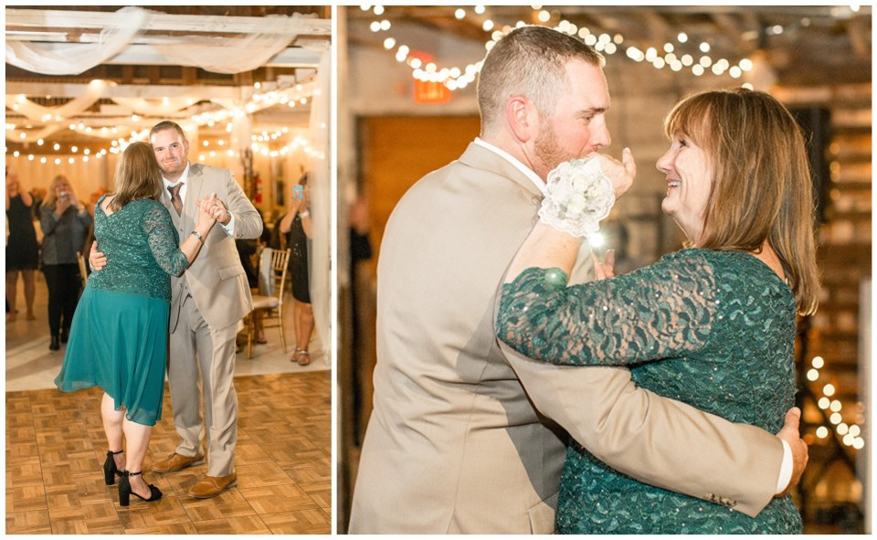mother and son wedding dance