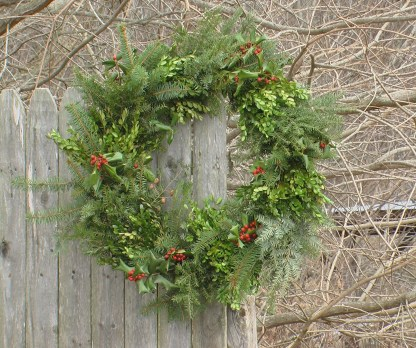Christmas wreath, large