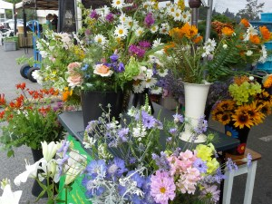 picture of Petal Passion's Hillsdale Farmer's market stand