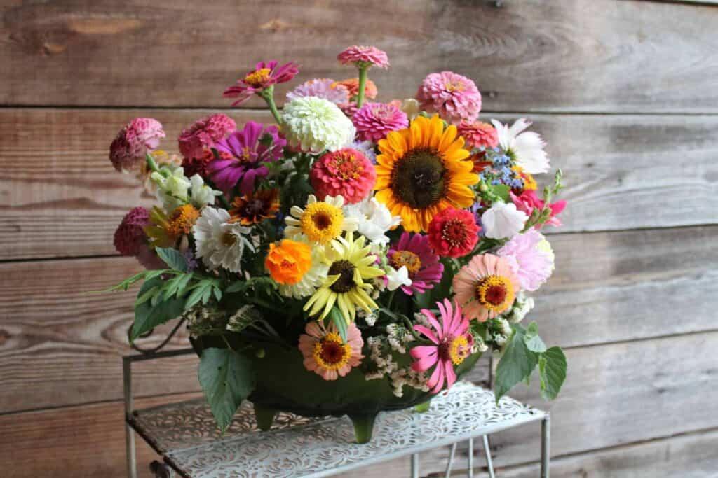 Petal Pusher Farms Flower Arrangement