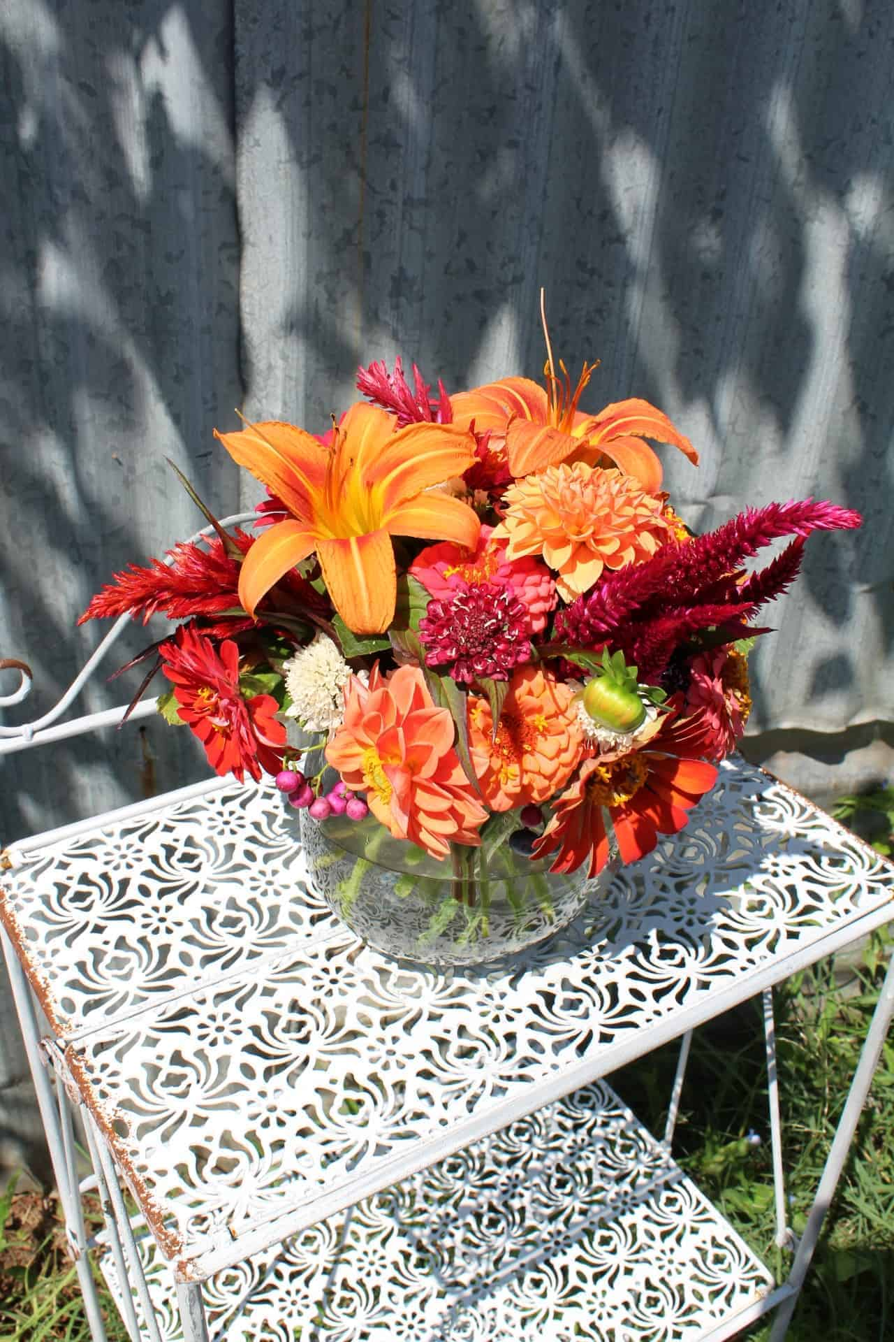 Petal Pusher Farms Flower Arrangement
