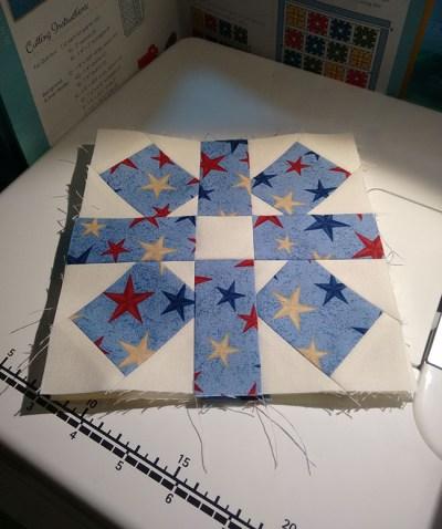 Stars Print Block