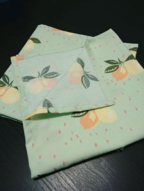 lemon-print-cloth-napkins
