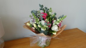 £40 Hand tied bouquet