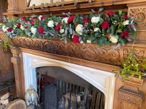 Christmas Wedding Garland