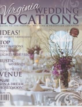 Viriginia Wedding Locations Magazine