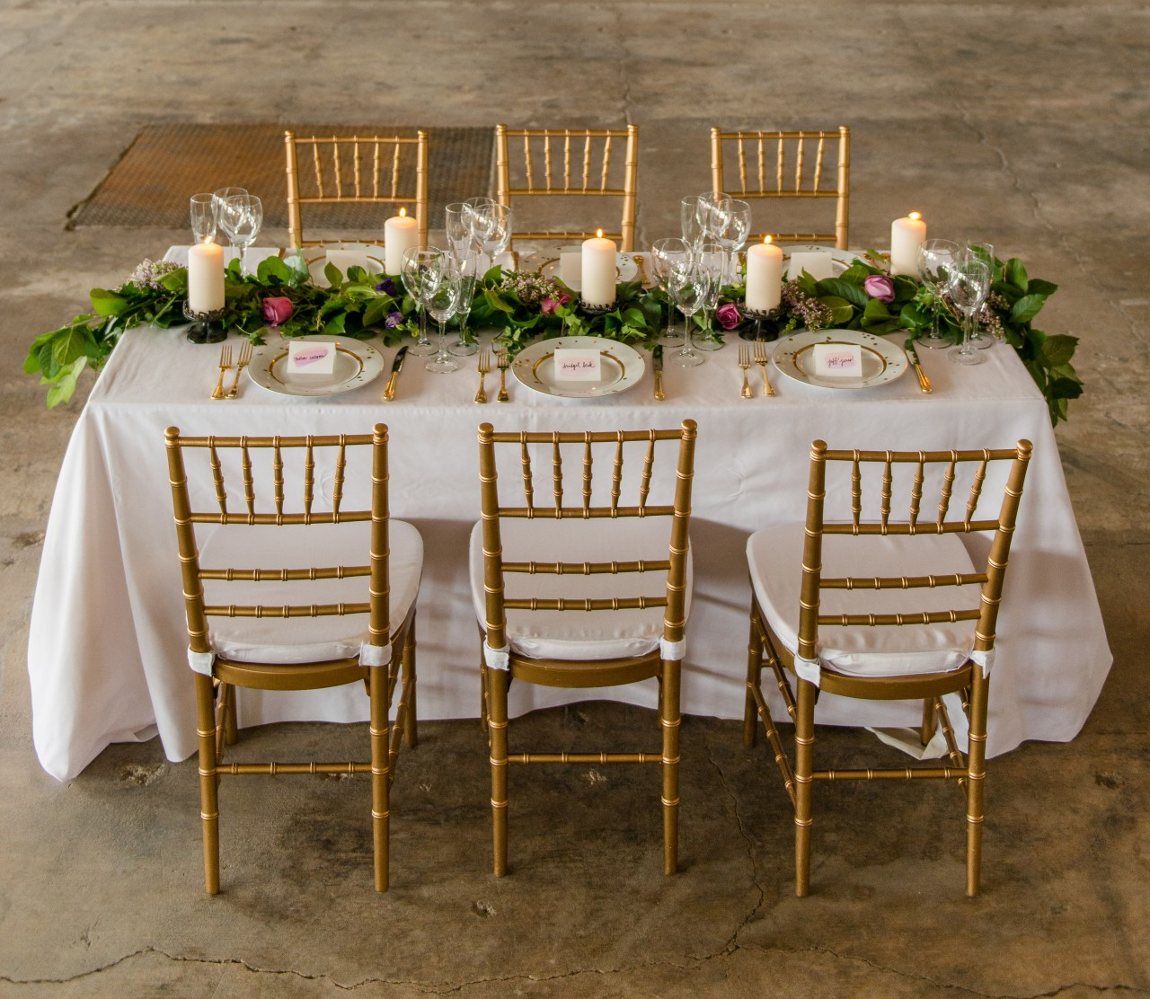 Ask The Florist Table Garlands Petal S Edge Floral Design