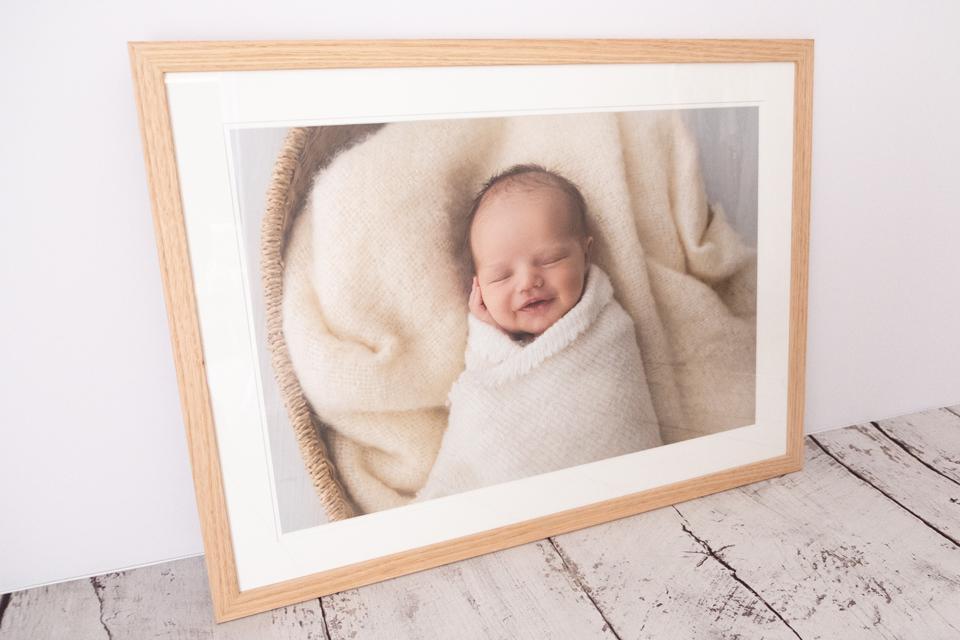 Wall Art Newborn Photography
