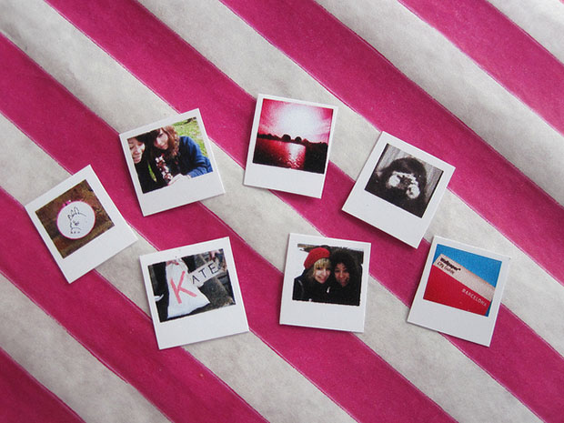 Tiny Paper Polaroid Cameras Make For Amazingly Cute Presents