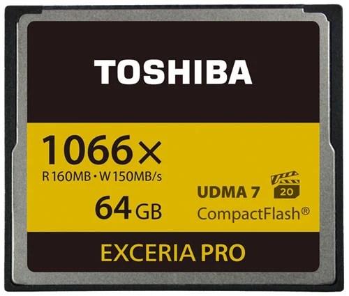 Toshiba Announces New SD Card Series, Boasts Worlds Fastest Write Speeds toshibaexceriapro