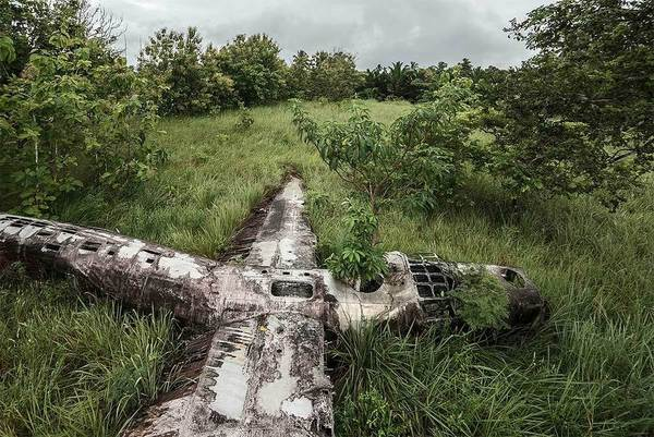 Photographer Travels the World Taking Pictures of Abandoned Airplane Wrecks airplane1