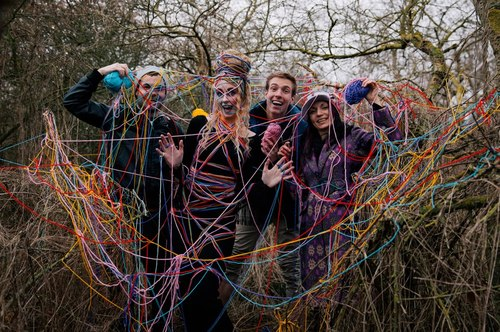Fun times to get the shot despite being in the cold rain, creating 'I bleed colours' from my personal Dreamcatcher Project with Richard Powazynski, Lauri Laukkanen and Donna Graham