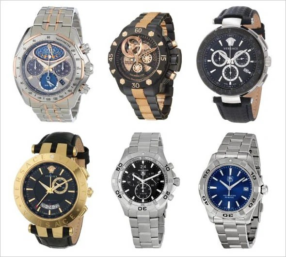 Some product photos of watches foun