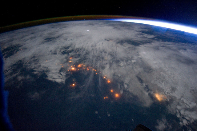 Lightning Storms Photographed From High Above in Space 6254316412 6a24780874 z