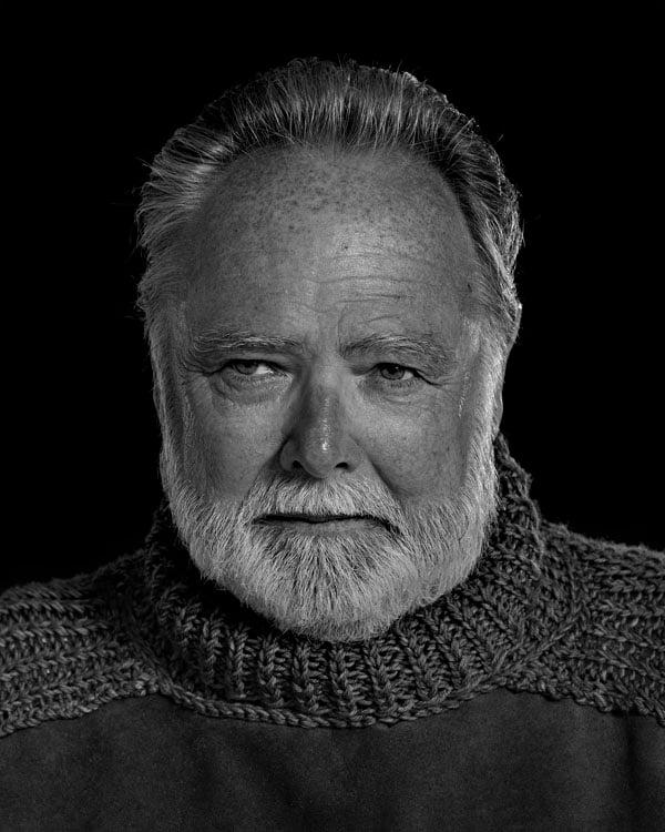 Portraits of the Bearded Men in an Ernest Hemingway Look Alike Contest JACK HELLER 1539 1