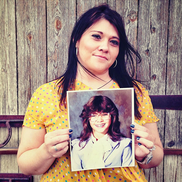 Portraits of People Holding Their School Pictures from Awkward Years awkwardyears 3