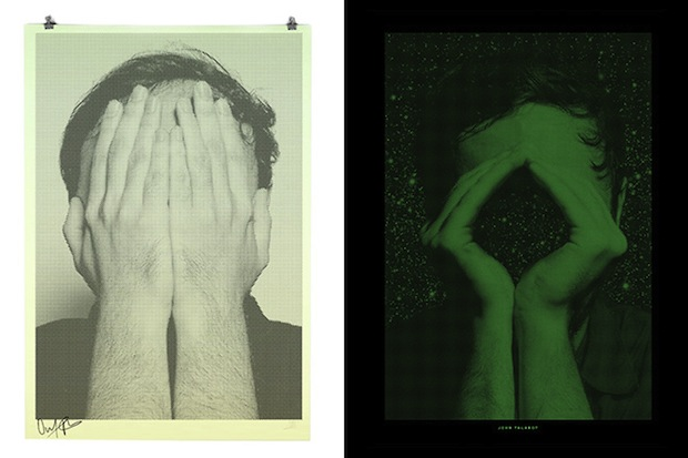 These Binary Prints by Alex Trochut Show Different Portraits in Light and Darkness binary4