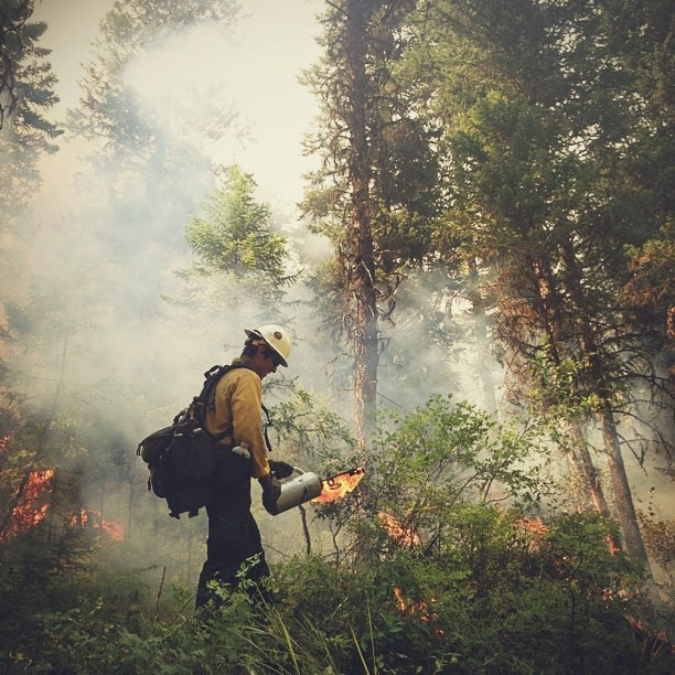 Hotshot Firefighter Takes to Instagram to Document His Crews Heroics boydston2