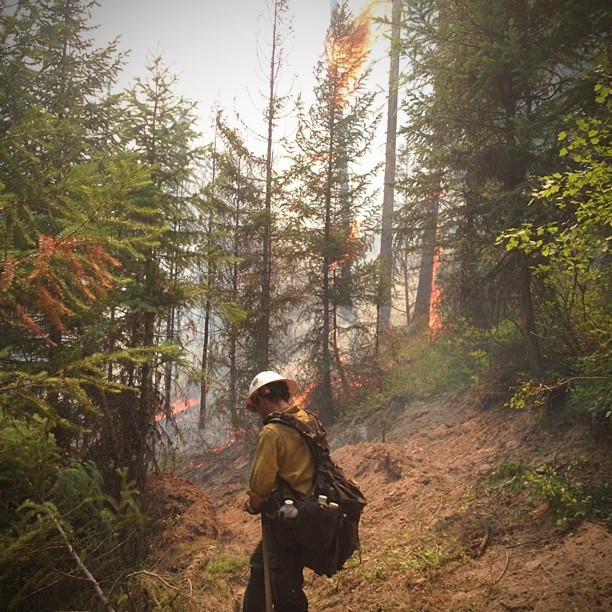 Hotshot Firefighter Takes to Instagram to Document His Crews Heroics boydston3