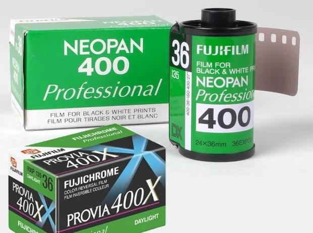 Fujifilm Discontinues Neopan 400 B&W and Provia 400X Slide Film fujidiscont