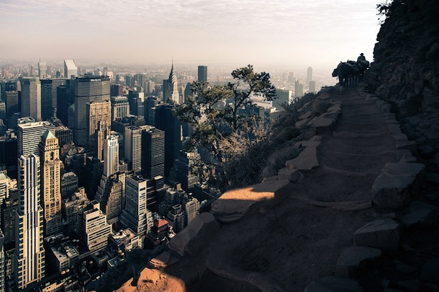 Photos of New York City Inside the Grand Canyon Contrast Emptiness and Density merge3