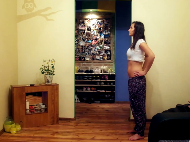 Nine Months in Two Minutes: A Creative Stop Motion Pregnancy Time Lapse preg1