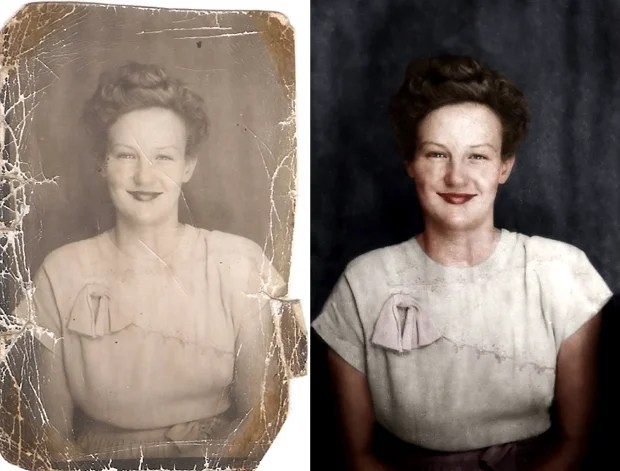 Redditor Shows Off His Restoration and Colorization Skills Through Time Lapse restoration1