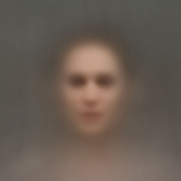 Averaged Portraits Created Using Faces Found in Popular Movies ssbkyh black swan copy