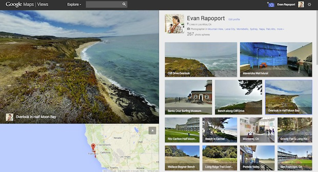 Googles New Views Site Gives Android Users a Place to Share Photo Spheres views1