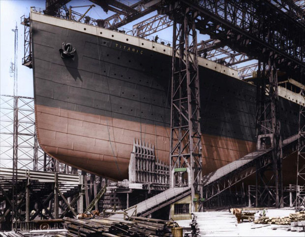 Colorized 1912 Photographs of the Titanic 138