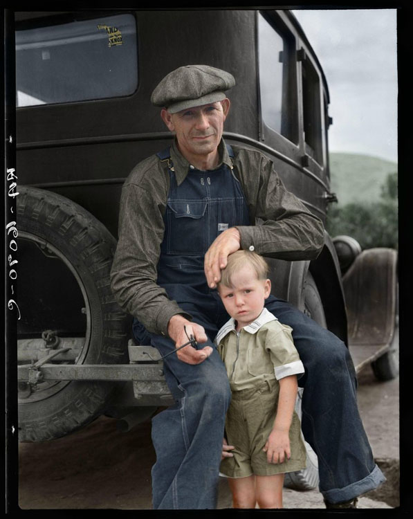 Colorizing Photoshoppers Put a New Spin on Old Historical Photos 5SHk5Pgh