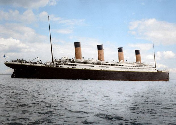 Colorized 1912 Photographs of the Titanic 99