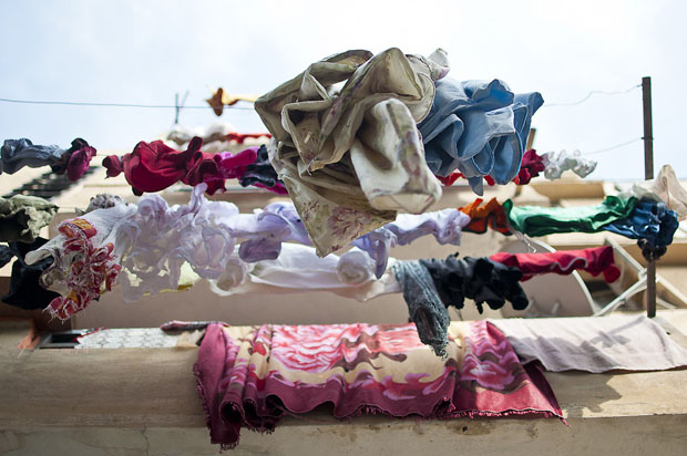 Laundry Around the World Photographed From Below Laundry1 1024