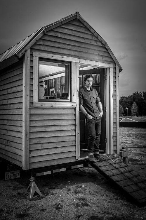 The Lumiere Photobooth: A Fully Mobile Traveling Tintype Portrait Studio Lumiere tintype photobooth tiny house