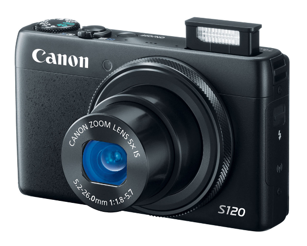 Canon Refreshes Point and Shoot Lineup, Brings Facebook Sharing to PowerShot N canons120