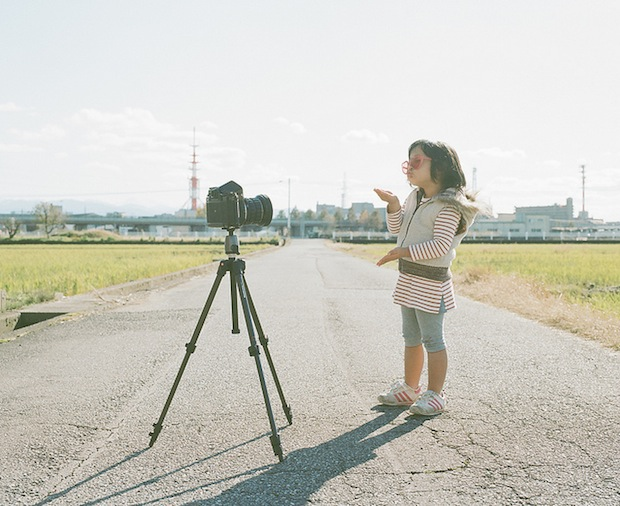 A Japanese Dads Imaginative Conceptual Portraits of His 4 Year Old Daughter daughter12