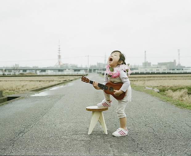 A Japanese Dads Imaginative Conceptual Portraits of His 4 Year Old Daughter daughter6