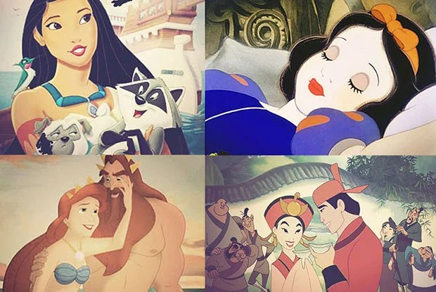 Humor: What if Disney Princesses Shared Photos on Instagram? disney