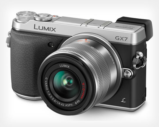 Panasonic GX7 is a 16MP Mirrorless with In Body Stabilization and a Tiltable EVF gx7 diagonal