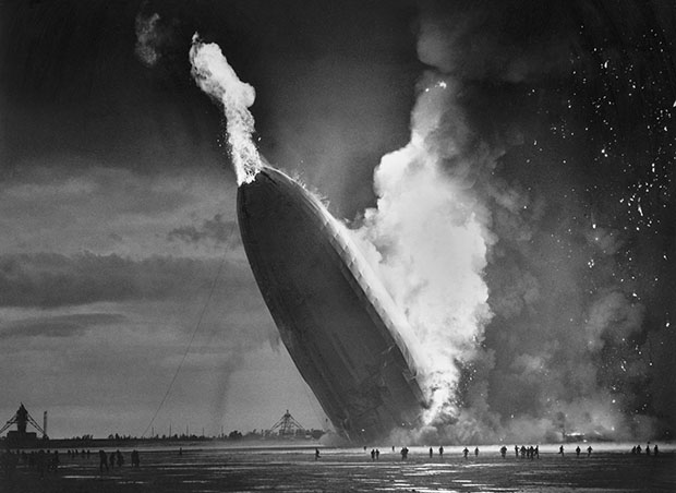 Colorizing Photoshoppers Put a New Spin on Old Historical Photos hindenberg