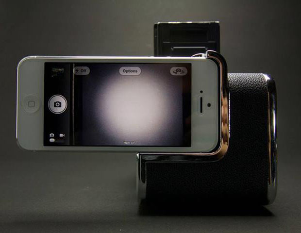 This Adapter Will Turn Your Phone Into an Uber Cheap Medium Format Digital Back iphonedigiback