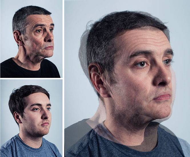 Photographer Blends Portraits of Fathers and Sons to Show Genetic Similarities jpeg 2