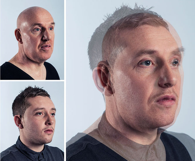 Photographer Blends Portraits of Fathers and Sons to Show Genetic Similarities jpeg 7