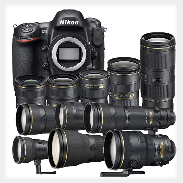 This Complete Set of Nikon DSLR Gear Will Only Set You Back $  82,700 nikoncomplete
