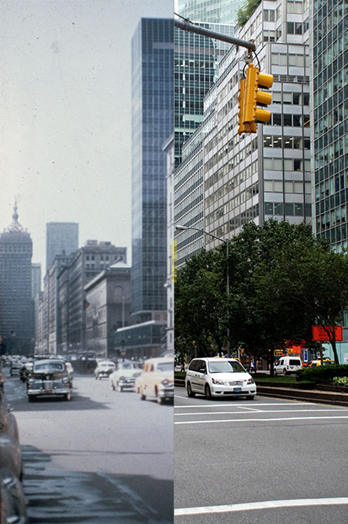 Then and Now Photos of New York City  nycbeforeafter 5