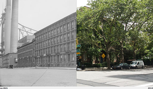 Then and Now Photos of New York City  nycbeforeafter 6