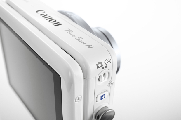 Canon Refreshes Point and Shoot Lineup, Brings Facebook Sharing to PowerShot N powershotNfacebook
