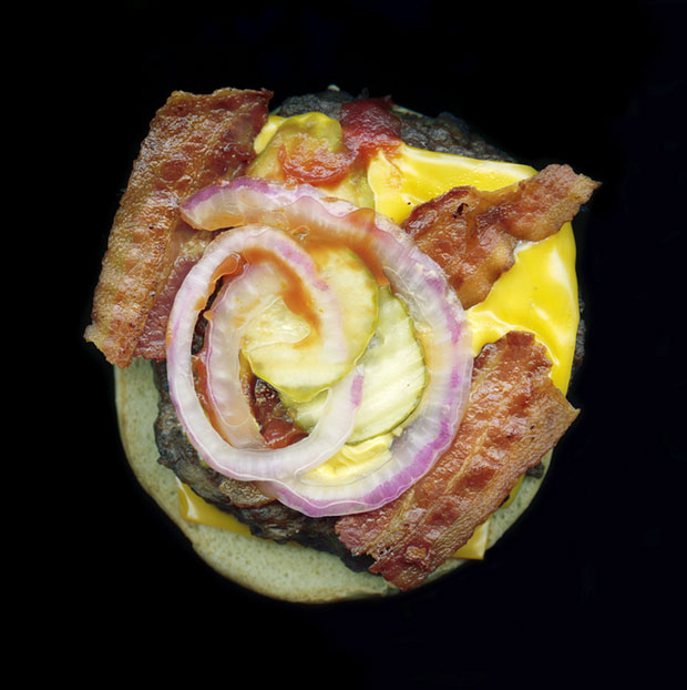 Pictures of Fast Food, Captured Using a Flatbed Scanner scannedfastfoods 2