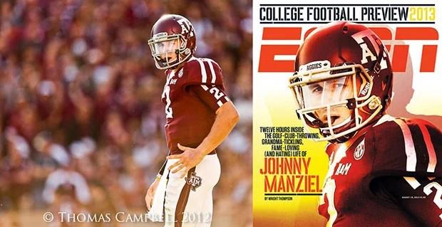 How I Shot a Photo of Johnny Manziel for the Cover of ESPN The Magazine shotvscover