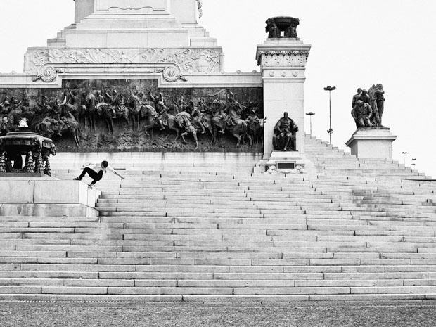 Amazing Skateboarding Self Portraits by Fabiano Rodrigues skateboard selfportraits 6